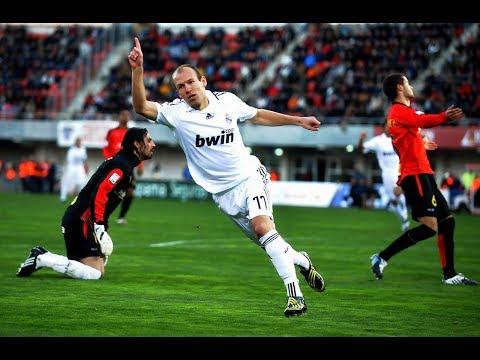 Arjen Robben ● Best Of Real Madrid 2007-2009