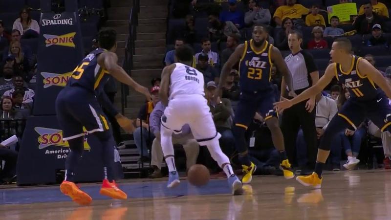 Memphis Grizzlies vs Utah Jazz Team Highlights - 11/12/18