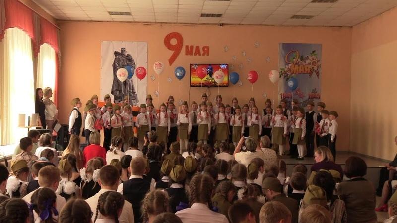 Праздничный концерт в МКОУ «Углянской СОШ» посвященный 74-ой годовщины Великой Победы