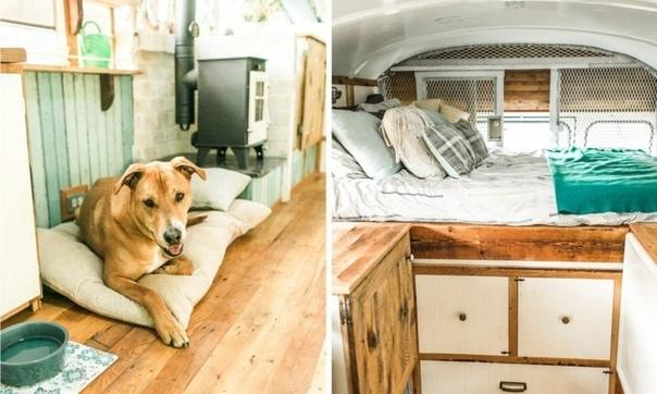 продолжительное пребывание в тюремном автобусе вряд ли является мечтой для многих, однако оказалось, что даже из такого специфического транспортного средства можно сделать уютный жилой дом. бен