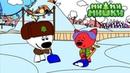 Новая серия - Раскраска Ми-ми-мишки - Кеша FM - Выпуск 40 - мультики детям