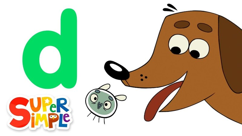The Letter D Learn The Alphabet Super Simple ABCs