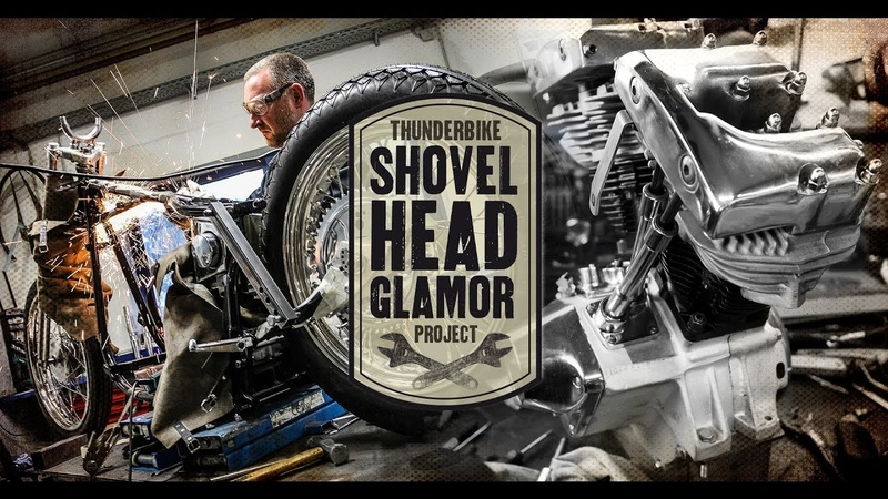 Thunderbike Shovelhead Glamor First Steps - Making Of