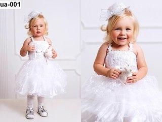 Платья детские нарядные фото 1 год