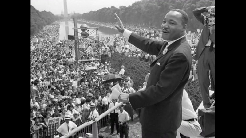 10. Share a Vision - Martin Luther Kings Dream