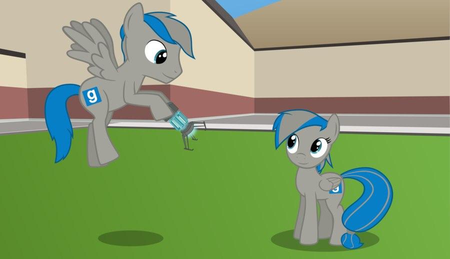 гаррис мод скачать пони