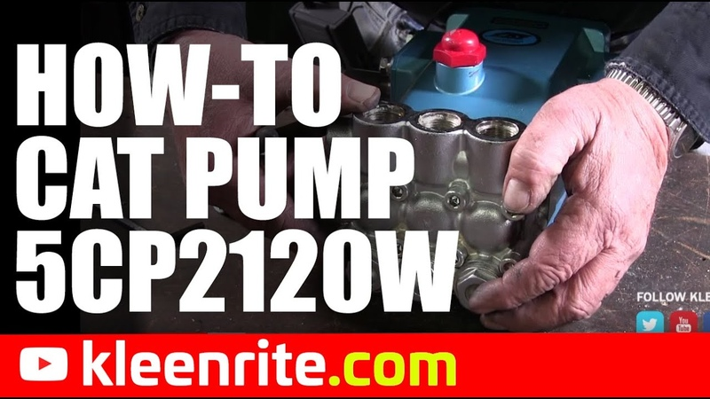 Tom's Way: How to service a Cat 5CP2120W Pump