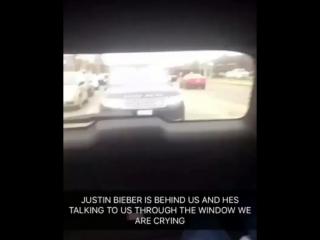 April 28: Fan taken video of Justin in Ontario, Canada.