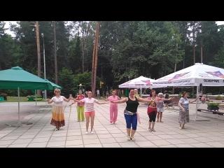 14.07.2018 танец живота в городском парке