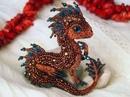 Алена Литвин из Москвы создает удивительно красивые броши в виде миниатюрных драконов - да…
