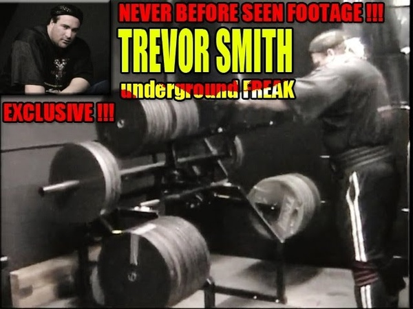TREVOR SMITH Leg Workout Video Never Before Seen Footage