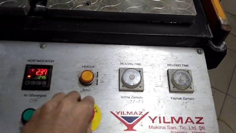 Cварочный станок YILMAZ TK 501 б/у 2006 г.в.- 70 000 РУБ.