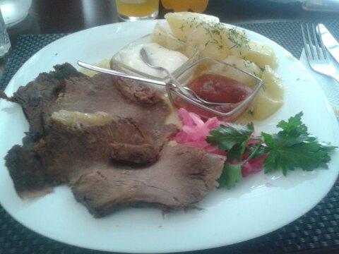 """Мясо """"Трио"""" с картофелем"""