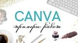 Что можно дизайнить в canve, мои примеры