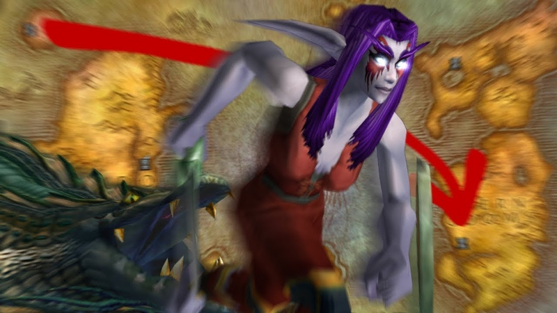 Level 1 Run from Darnassus to Stormwind CHALLENGE in WoW Classic Beta