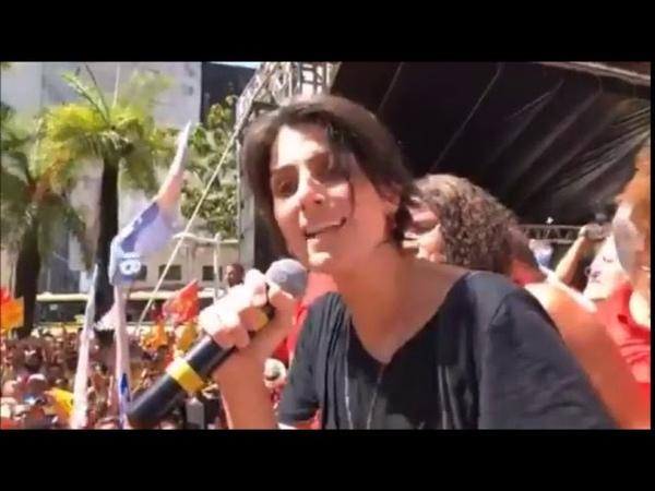 Caminhada e Ato de LulaHaddadManuela na Praça do Diário, em Recife 22 09 2018 InfoDigit-PC