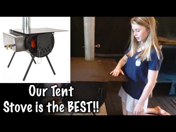 Colorado Made Tent Stove -Alpine Stove - Colorado Cylinder Stoves - Our Journey Episode 90
