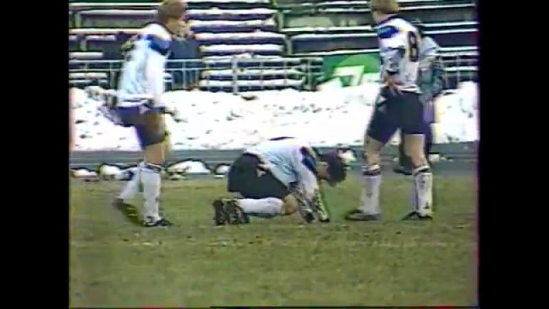 07.11.1991 Кубок УЕФА 1/16 финала 2 матч Торпедо (Москва) - Сигма (Чехословакия) 0:0