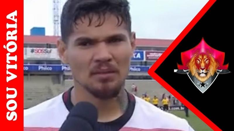 Emocionado, Léo Ceará diz que ponto fora de casa foi importante contra o Paraná