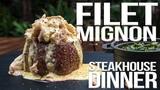 Perfect Filet Mignon Steakhouse Dinner SAM THE COOKING GUY 4K