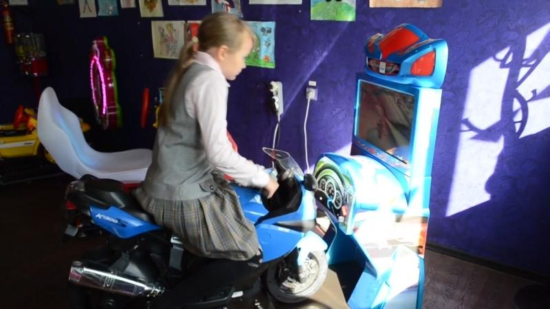 Симулятор мотогонок дети