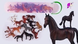 CollectA Mini Horse Tube of Different Small Horses ! Honey Hearts C Video