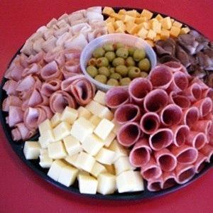 Красивое оформление закусок к праздничному столу!