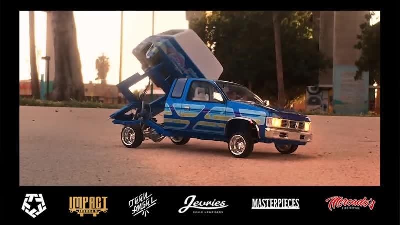 RC Lowrider at Chicano park 2016