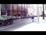 За это видео уволили командира пожарного расчета. Парад в Эстонии 24.02.2016