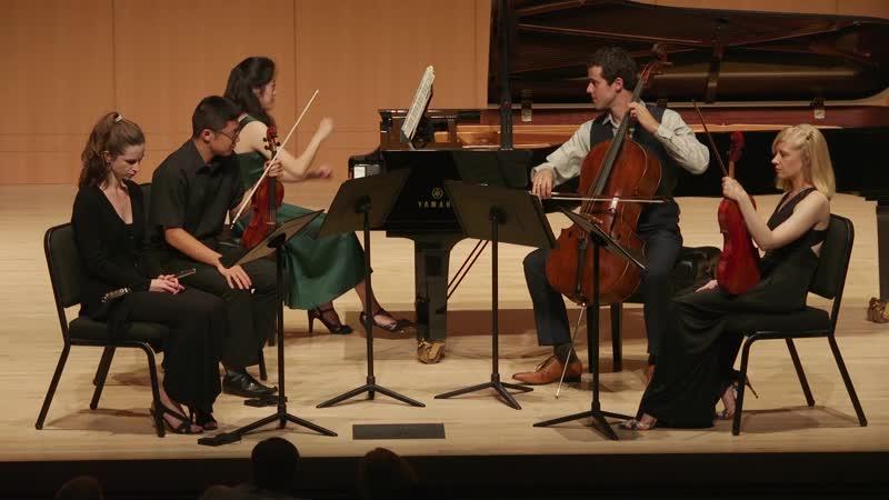 988 (2/4) J. S. Bach - Goldberg-Variationen, BWV 988 II. Variations 7-15 - A. Zhang-E. Ferguson-D. Na-J. Glenn-M. Dahlberg