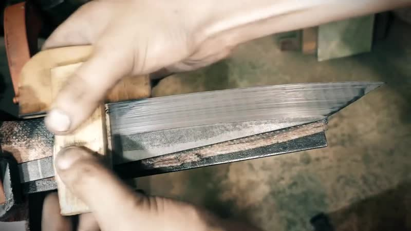 [Koss] Knife Making - Kiritsuke Japan Kitchen Knife