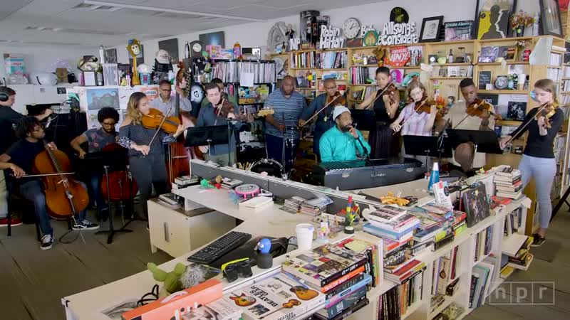 PJ Morton NPR Music Tiny Desk Concert