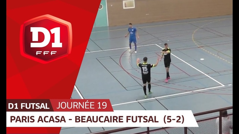 J19 : Paris ACASA - Beaucaire Futsal