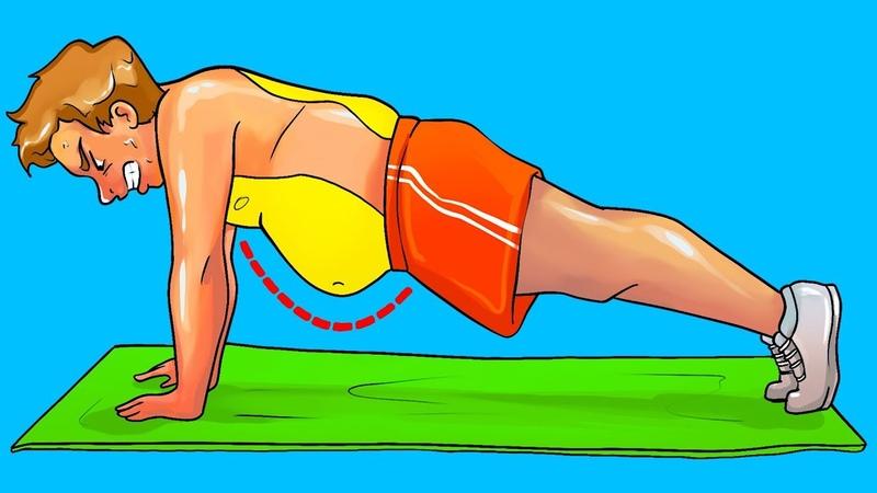 10 Упражнений Для Избавления от Живота за Месяц