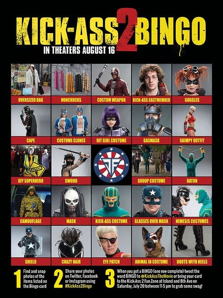 Preview 25 Minutes Of KICK-ASS 2 Soundtrack