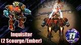 War Robots Best Attack! Inquisitor (2 ScourgeEmber)