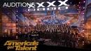 Angel City Chorale: Massive Choir Makes It Rain With 'Africa' - America's Got Talent 2018