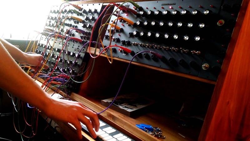 Giorgio by Moroder Modular Synthesizer Cover