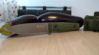 15 Градусов на сторону - Тест ножа Sturm PGK Kizlyar Supreme. Кизляр Суприм Штурм после переточки
