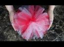 DIY How to Make Tulle PomPoms / HTM Como hacer Pompones o Motas de Tul