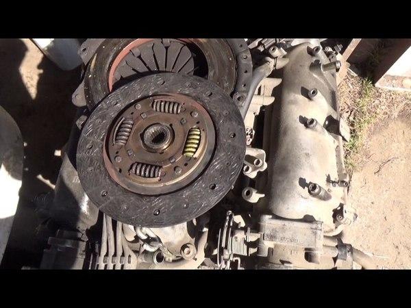 Замена двигателя NISSAN Primera P11. Начало.