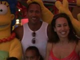 Dwayne Johnson Visits Universal Orlando Resort