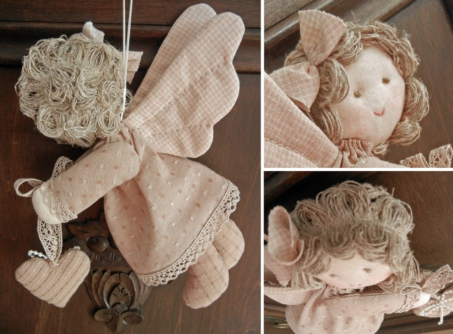 Ангелочки своими руками шить