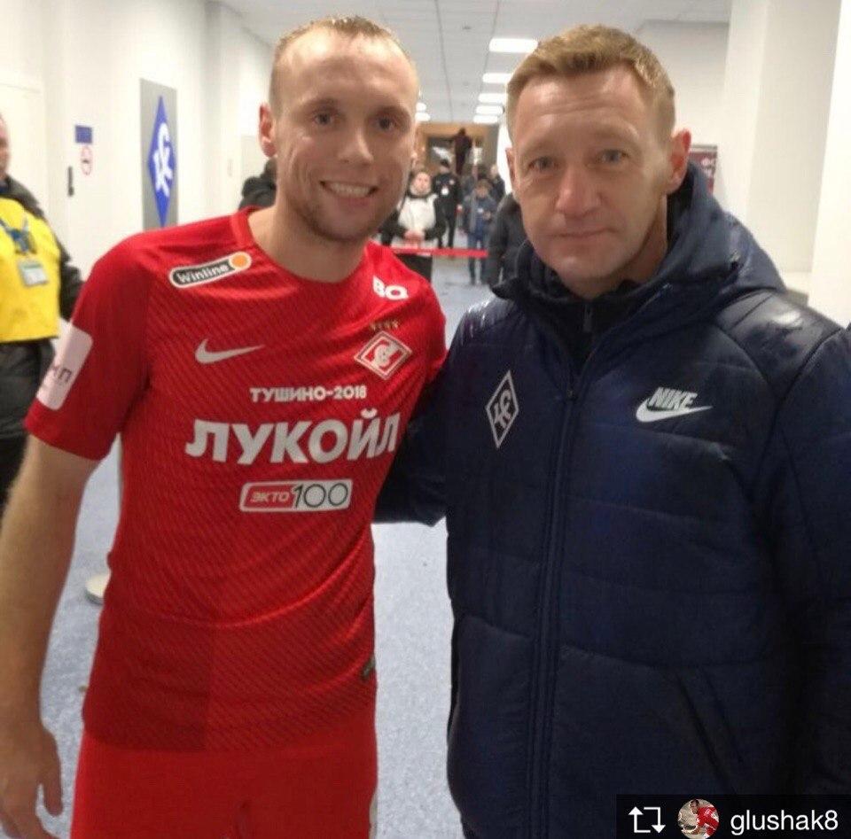 Денис Глушаков и Андрей Тихонов