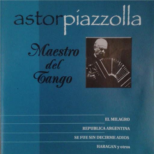 Астор Пьяццолла альбом Maestro del Tango - Album Azul
