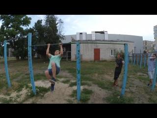 Обучение элементу Супер Оли | Super Ole Tutotial | Street Workout 2018