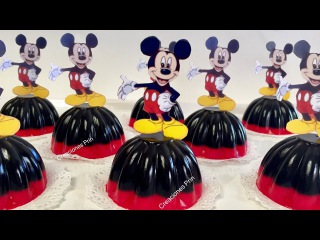 ( https://vk.com/lakomkavk)Gelatinas de Mickey Mouse individuales