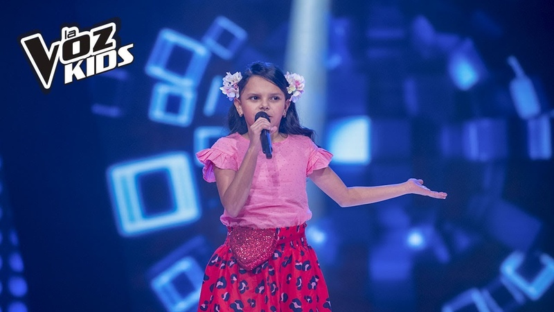 Cami cantó Todos Me Miran de Gloria Treviño - Rescates   La Voz Kids Colombia 2018