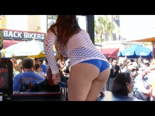 Daytona Bike Week 2013 - Body Paint, Bikini Contest, Serious Bikes & Mongols