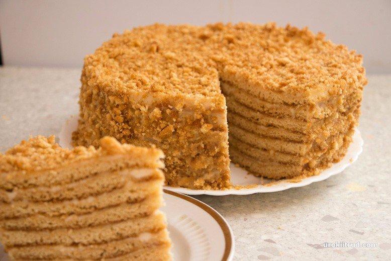 Рыжик торт рецепт с фото
